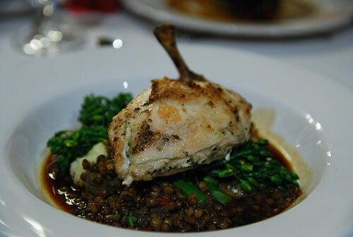 ricette di lenticchie con pollo