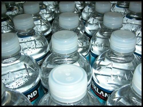 Bottigliette di acqua