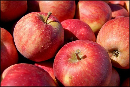 L'ideale è mangiare due mele al giorno