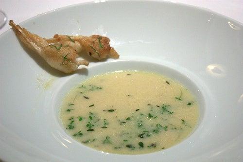 zuppa di cipolla e aglio