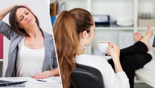 Esercizi per persone sedentarie