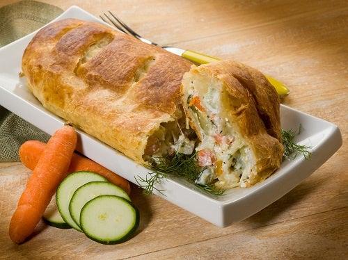 ricette a base di carote - rustico