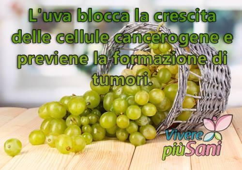 Uva, uno degli alimenti per disintossicare il fegato
