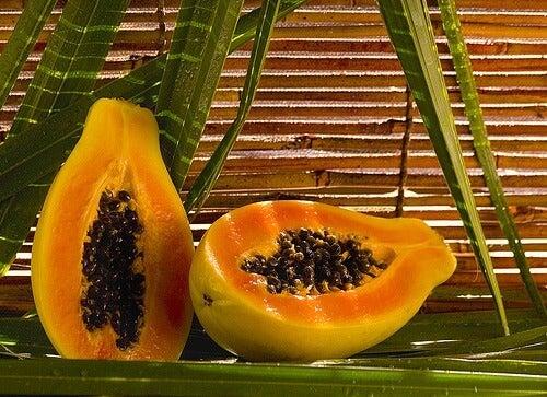 frullati salutari di papaya