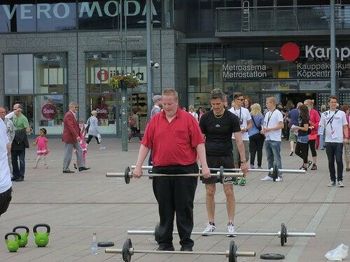 Esercizio fisico e peso