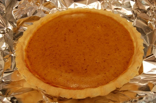 menù completo a base di zucca - la torta zucca