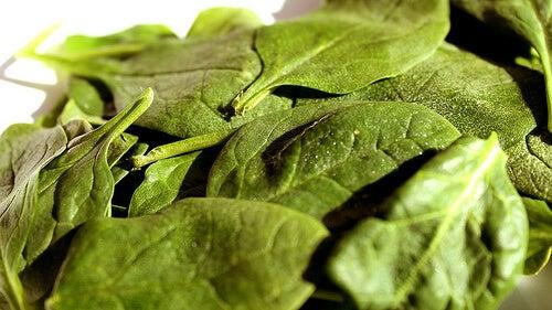 Il rimedio degli spinaci
