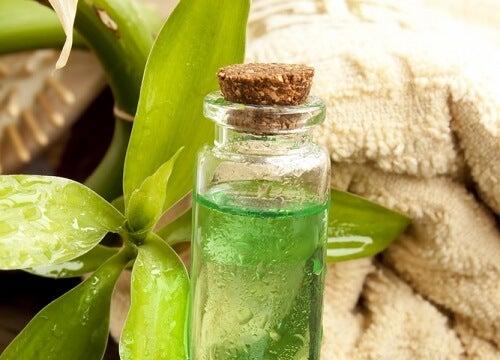 olio di tè contro la candidosi orale