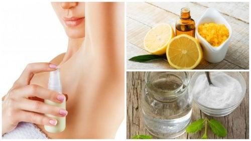 Ingredienti deodoranti fatti in casa