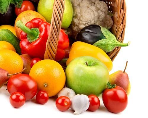 Per una buona alimentazione, vi raccomandiamo di mangiare quotidianamente frutta e verdura.