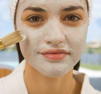 maschera per pelle del viso secca
