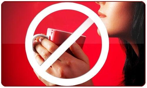 No alla caffeina