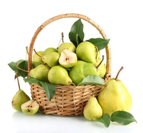 mangiare una pera al giorno