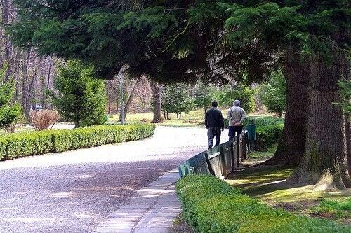 passeggiata al parco