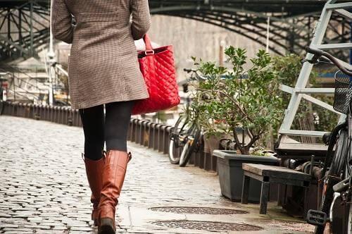 camminata in città