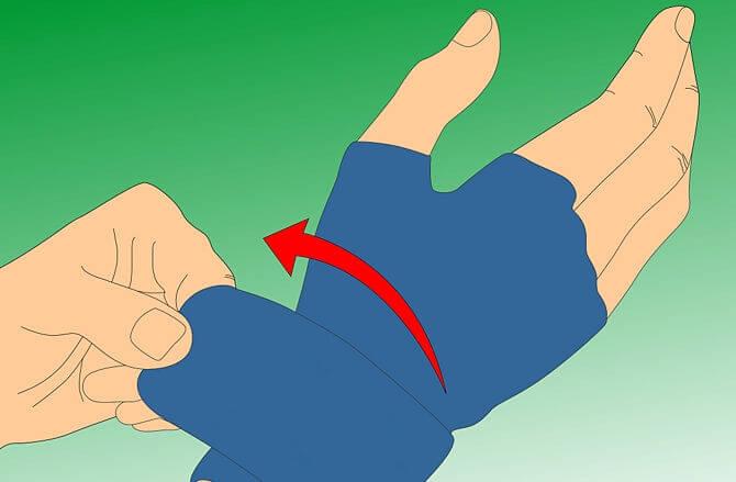 guanti compressione