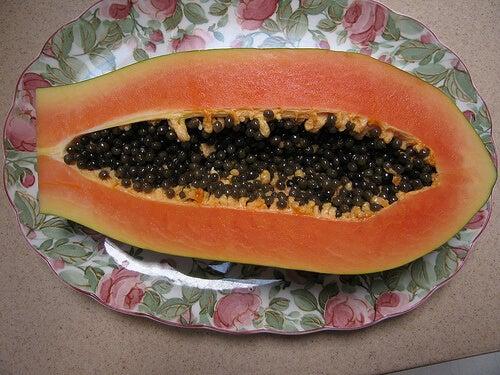 Papaya matura