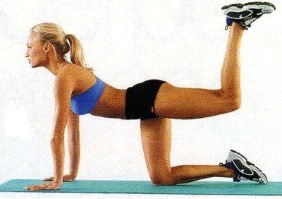 Esercizi delle gambe per ridurre il girovita