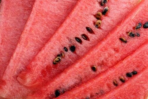 Anguria con i semi