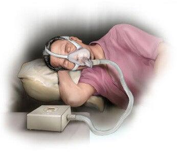 Maschera per apnea notturna