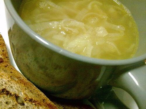 zuppa cipolla