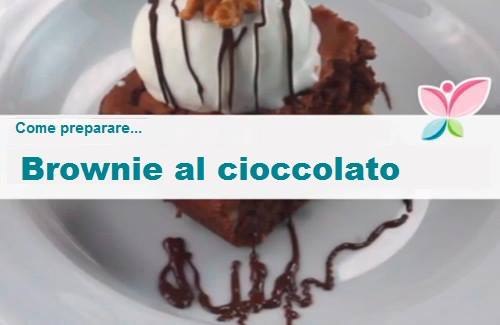 Come preparare brownie al cioccolato