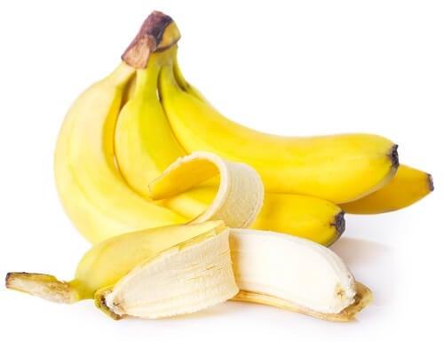 Anche la banana è uno dei frutti per combattere la gastrite