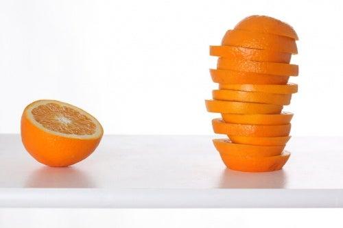 Benefici della scorza d'arancia