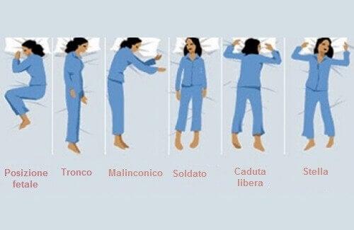 Cosa dice di noi la posizione in cui dormiamo?