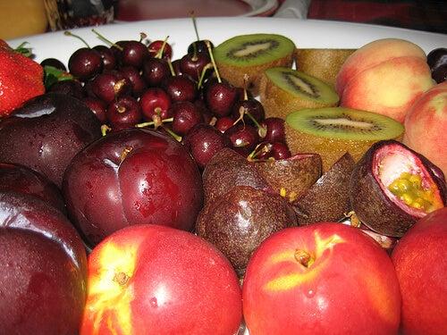 Frutta con meno calorie