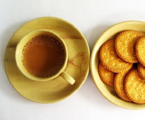 tè e biscotti