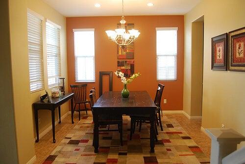 Di che colore tingere le pareti di casa vivere pi sani - Stanze da pranzo ...