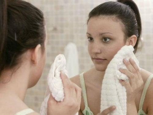 Combattere l'acne