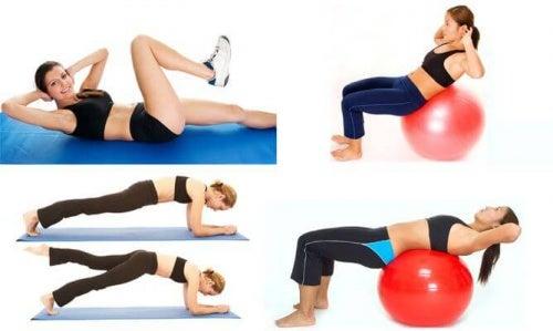 Esercizi per ridurre il girovita