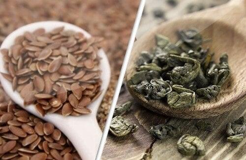 Semi di lino e tè verde: alleati contro il cancro