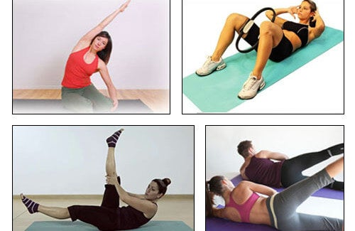 Esercizi di pilates per essere in forma