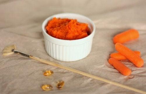 Maschera alla carota