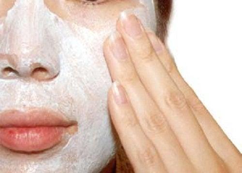 Esfoliazione del viso