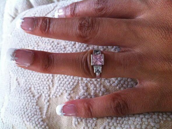 anello incastrato