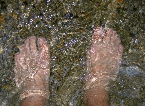 acqua fredda per tonificare le vene