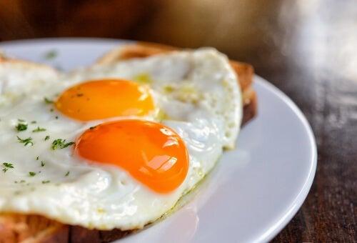 uova per rimanere sazi