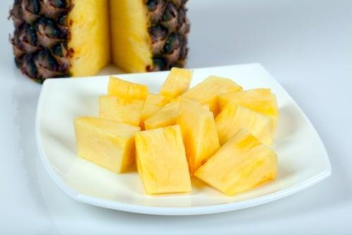 rafforzare i reni con l'ananas