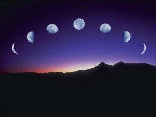 Cambiamenti in base al ciclo lunare