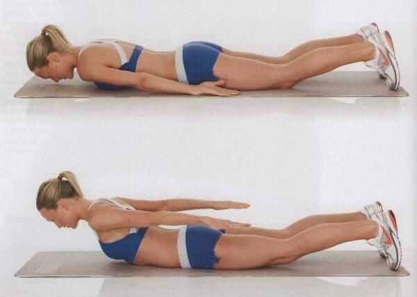 Preferenza Esercizi per ridurre il grasso della schiena - Vivere più sani TB91