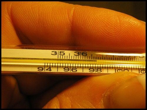 Termometro per misurare la febbre