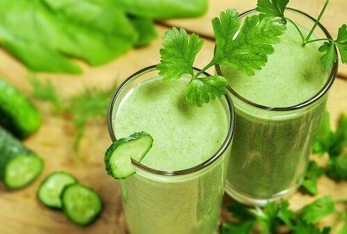 9 frullati per disintossicare l'organismo