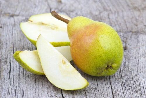 La pera rende il metabolismo più veloce