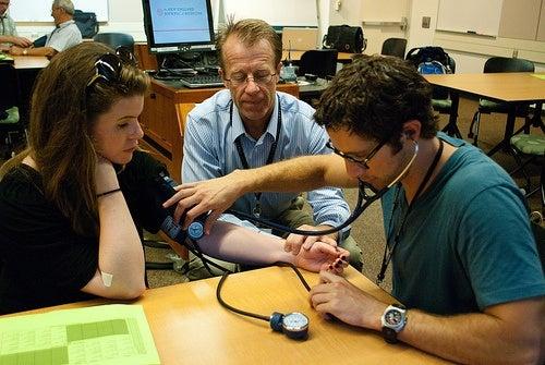 Misurazione della pressione sanguigna alta