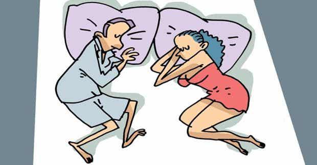 Le 4 migliori posizioni per dormire con il proprio partner
