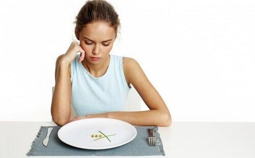 6 errori comuni quando si vuole dimagrire